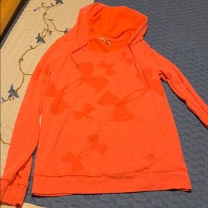 Coral Under Armour Women's Hoodie
